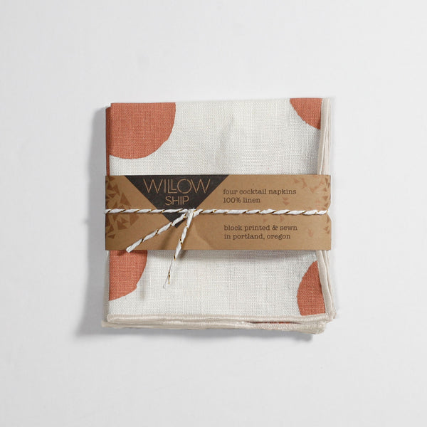 'Scatter' Cocktail Napkins - Set of 4