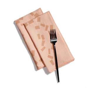'Figures' Dinner Napkins - Set of 2