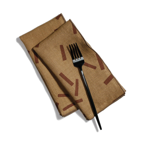 'Toss' Dinner Napkins - Set of 2