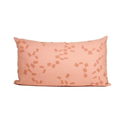 'Figures' Pillow Cover - Lumbar