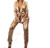 24K MAGIC Blazer Suit Set