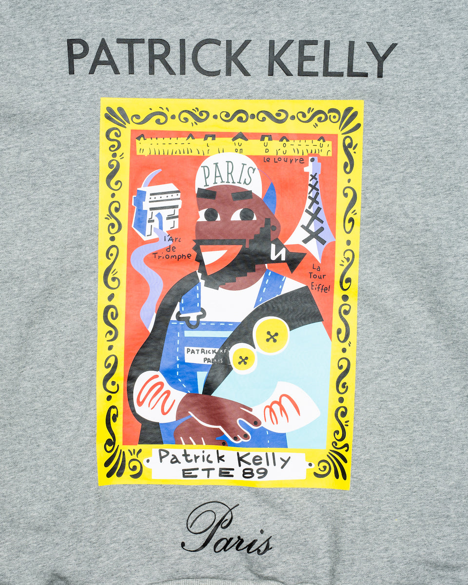 Patrick Kelly Portrait Crew - Grey