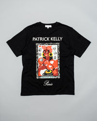 Patrick Kelly Mississipi Lisa Portrait Tee - Black