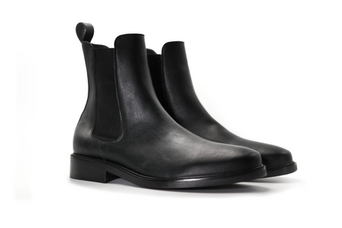 PU vegan leather boots made by Brave GentleMan