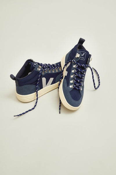Recycled plastic Eco-friendly vegan leather shoes from VEJA