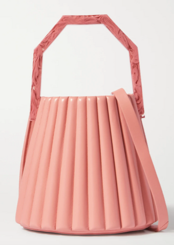 A Baby Pink Bucket Bag from Louise Et Cie