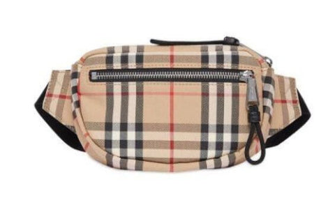 A Burberry Fanny Pack is…apparently…a thing.