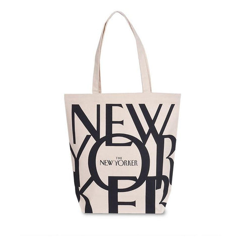 The New Yorker Tote Bag from Etsy