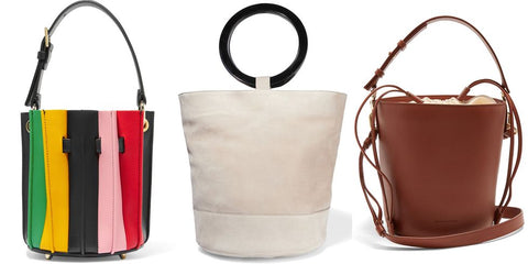 Bucket Bags can be worn stylishly year round.