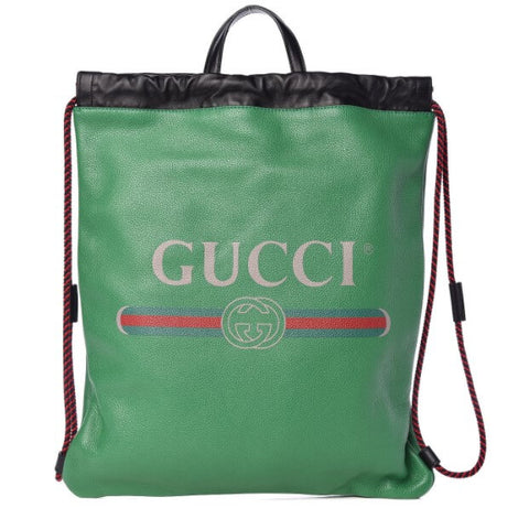 Gucci Makes a High Fashion Cinch Backpack that costs over $1000 dollars