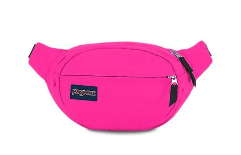 Fanny Packs are small bags attached to Buckled Straps