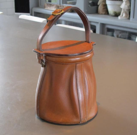 Bucket bags have been around since the 40s, which is when they became a popular trend