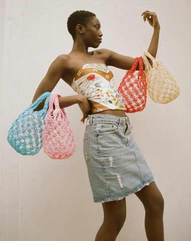 Woven Bags are A Big Hit on Spring Runways