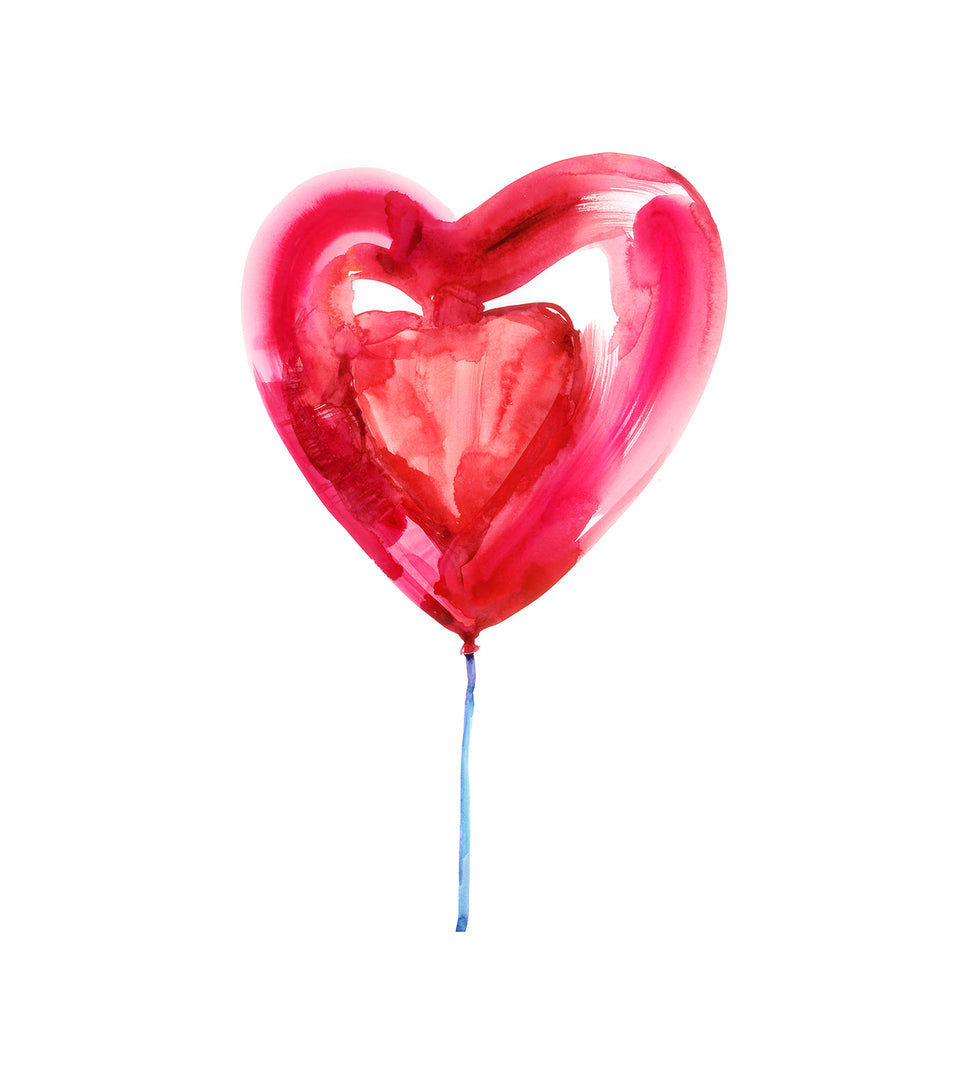 RED HEART BALLOON 2
