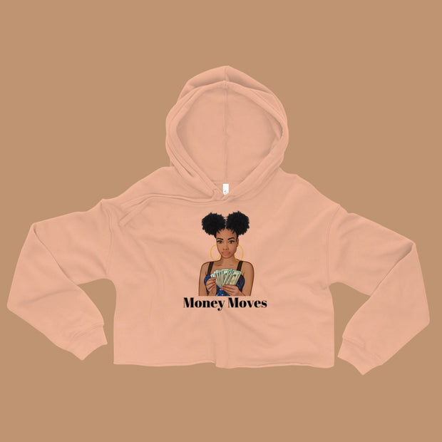 Money Moves Crop Hoodie
