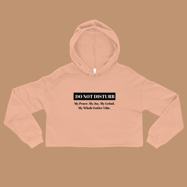 Do Not Disturb Crop Hoodie