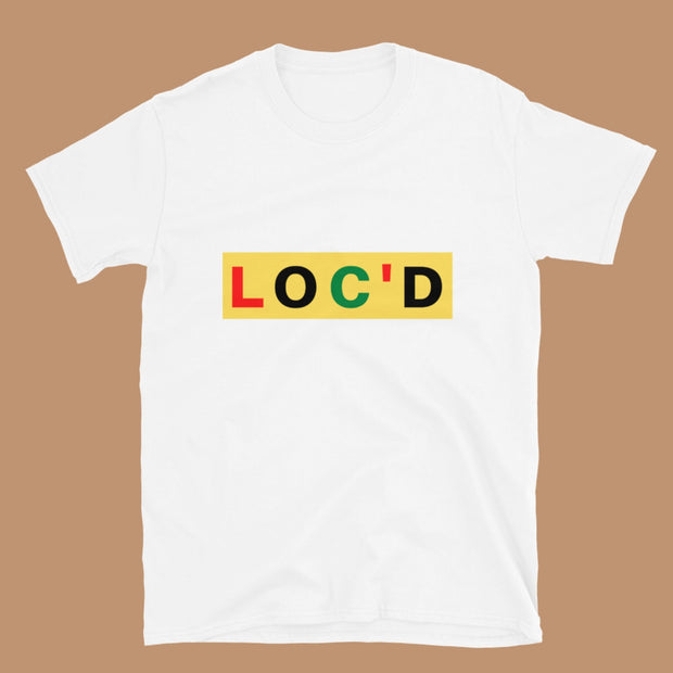 Loc'd Length Check Tee Liberation