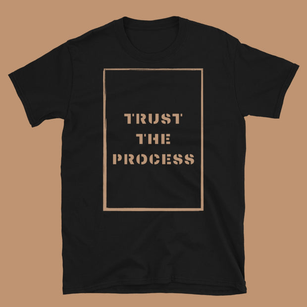 Trust The Process Length Check Tee For Locs