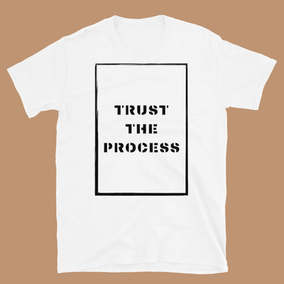 Trust The Process Length Check Tee (Unisex) For Locs