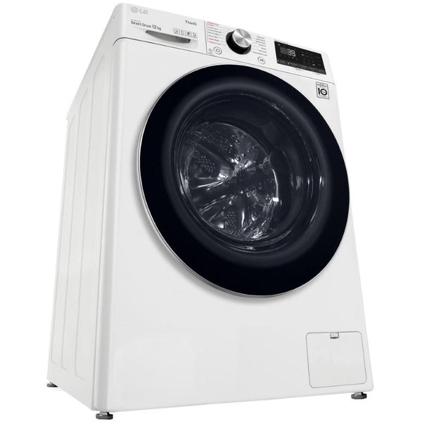 LG WV9-1412W 12kg Front Load Washer (White) - Brand new