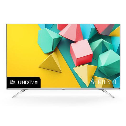 "Hisense 50S8 Series 8 50"" 4K UHD Smart TV 2020 - Refurbished"