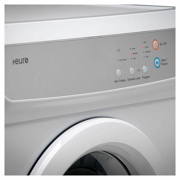 Euro Appliances Vented Dryer E7SDWH - Brand new 3 Years warranty