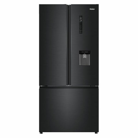 Haier HRF520FHC 514L French Door Fridge (Black) WITH WATER DISPENSER