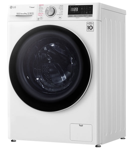 LG WV5-1409W 9kg AI Direct Drive Front Load Washer with Steam Brand new