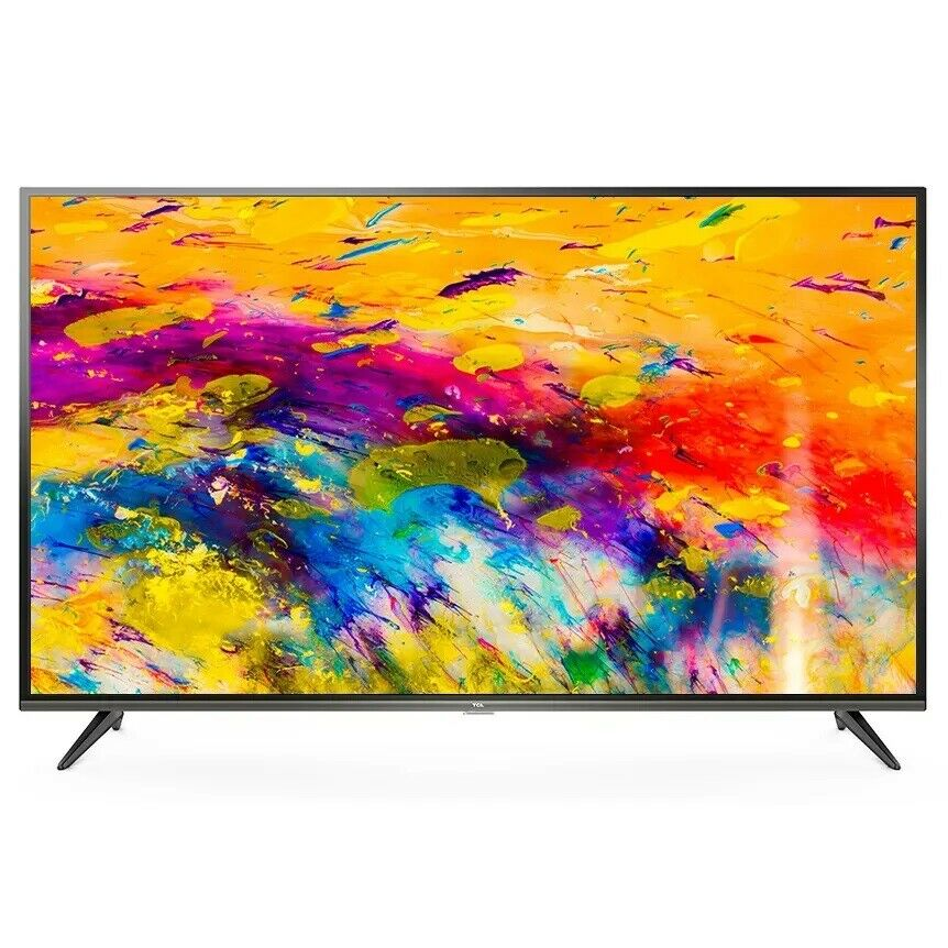 TCL 55 Inch UHD 4K Smart TV 55E18US - Refurbished