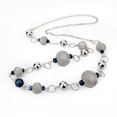 Crystal Beads Necklace - Clout Hype