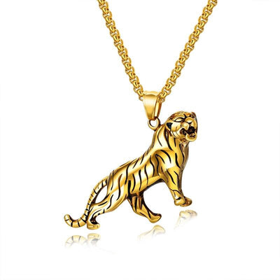 Gold Tiger Chain