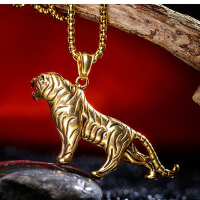 Gold Tiger Chain - Clout Hype