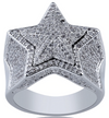 Icy Star Ring