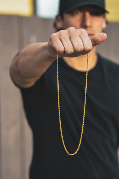 14K Gold Rope Chain - Clout Hype