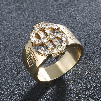 Gold Money Ring - Clout Hype