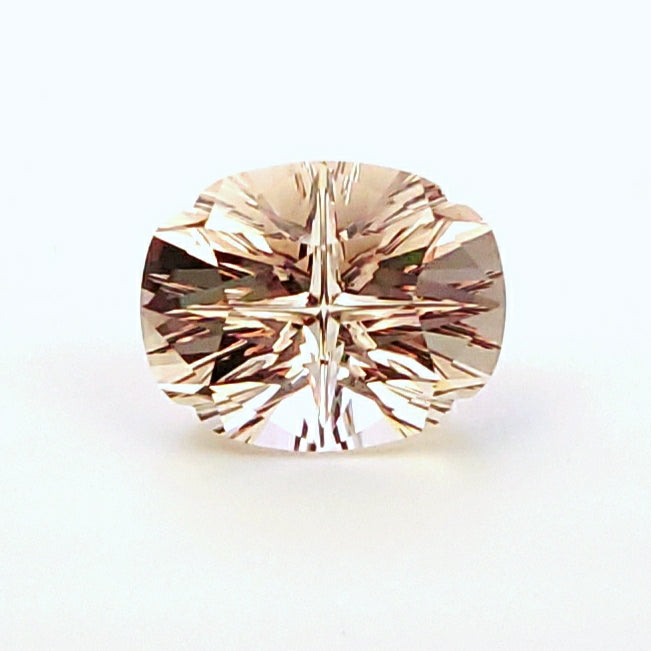 Morganite Four Direction Oval
