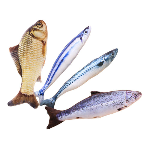3D Fish Toys For Cats