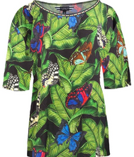 Load image into Gallery viewer, CURATE by Trelise Cooper - Kiss Kiss Top in Butterfly - Size 20