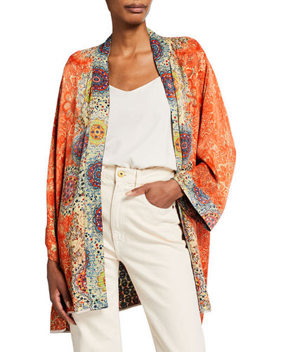 JOHNNY WAS - Cameron Kimono (Reversible) - MULTICOLOUR 2
