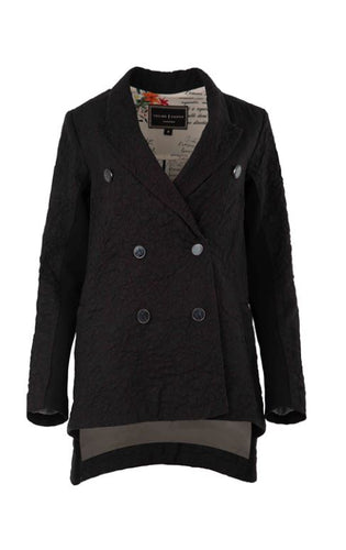 Trelise Cooper - CITY OF LOVE jacket - BLACK WOOL