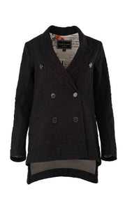 Trelise Cooper COUTURE - CITY OF LOVE jacket - BLACK WOOL