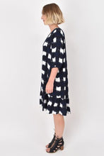 Load image into Gallery viewer, PQ COLLECTION - Flare Dress - NAVY CHECK