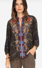 Load image into Gallery viewer, JOHNNY WAS - Mona Effortless Swing Blouse
