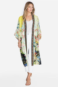 JOHNNY WAS - Tawney Kimono - YELLOWS