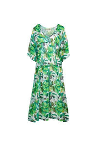 CURATE by Trelise Cooper - Vee You Dress - GREEN BANANAS