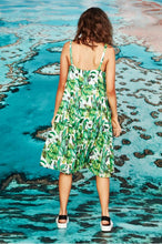 Load image into Gallery viewer, CURATE by Trelise Cooper - Breath Easy Dress - GREEN BANANAS