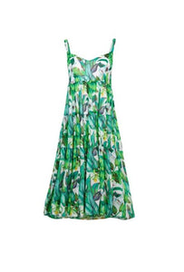 CURATE by Trelise Cooper - Breath Easy Dress - GREEN BANANAS