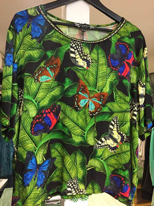 CURATE by Trelise Cooper - Kiss Kiss Top in Butterfly - Size 20