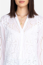 Load image into Gallery viewer, JOHNNY WAS - Cauis Tunic - WHITE