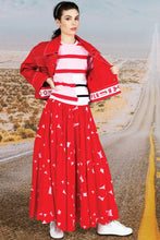 Load image into Gallery viewer, COOPER - Circle of Life Skirt in Red Spot - Size 12